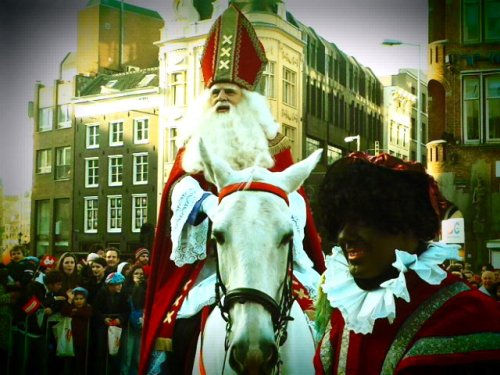 A sint and a piet (from 2011)