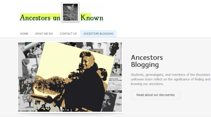 ancestors blogging