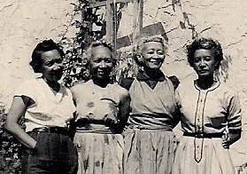 Grandmom (second from right) and her sisters