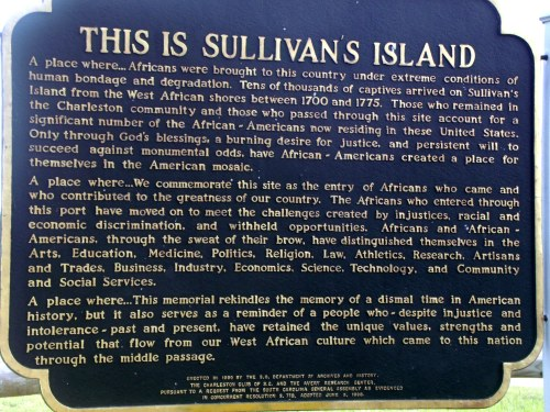 This is Sullivan's Island